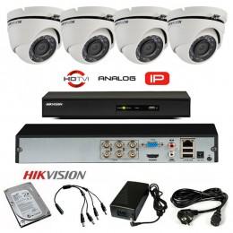Komplet 4 HD kamere 720p PRO