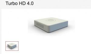 TurboHD 4.0 Video snimac Hikvision 7116 Serije (H.265, Pro+/H.264, 4MP lite) Self-adaptive HDTVI/HDCVI/AHD/CVBS signal input