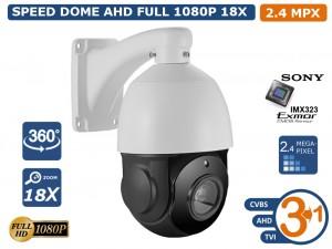 SONY CMOS IP 3u1 kamera C200NS (2.1MP CMOS Sensor, 18X Optical Zoom (f=3.9mm-85.5mm))