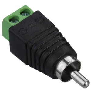 RCA to DC konektor